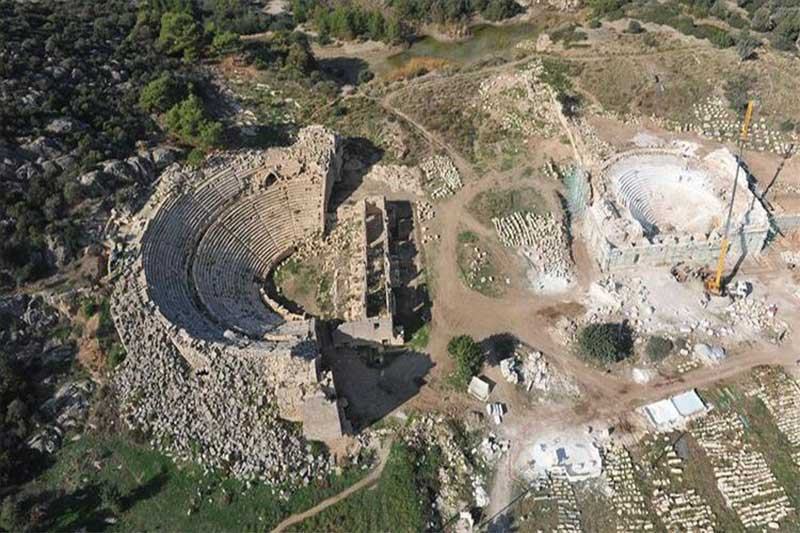 antalya'da antik bir kent - Antalyada antik bir kent patara - Antalya'da antik bir kent