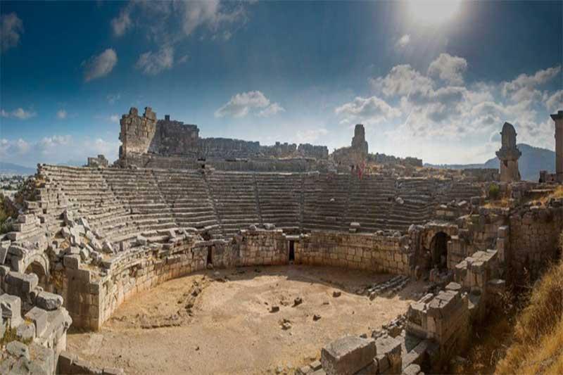 antalya'da antik bir kent - Antalyada antik bir kent - Antalya'da antik bir kent